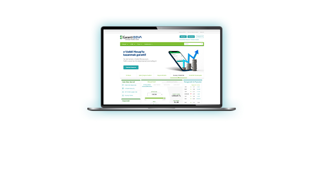 İnternet Bankacılığı | Garanti BBVA